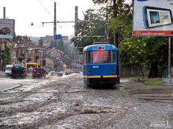 Одесский трамвай сегодня празднует 104-й день рождения (ФОТО)