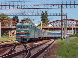 """Поезд """"Одесса-Луганск"""" из-за боевых действий до Луганска не идет"""