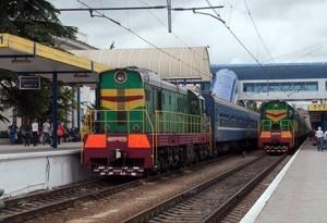 Украина отменила движение пассажирских поездов в Крым