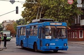 Троллейбус в Одесский аэропорт меняет расписание