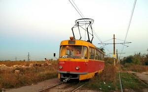 Одесский камышовый трамвай прекратил работу