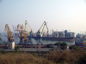 Одесский порт в прошлом и настоящем: время разное, проблемы похожие