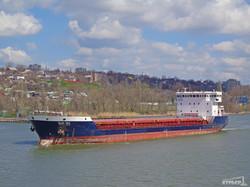 В Ильичевском порту арестовали судно под российским флагом (фото, документ)