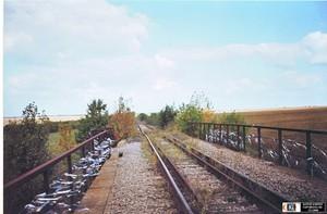 В Одесской области разбирают железную дорогу к недостроенной атомной станции