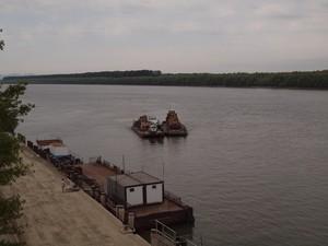 На Дунае прекратилось судоходство