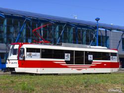 В Одессу везут первый за последние семь лет новый трамвай (ФОТО)