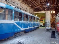 Новый одесский трамвай: уже в процессе сборки (ФОТО)