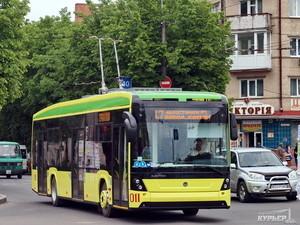 Одессе дают деньги на новые троллейбусы: кредит на 12 лет
