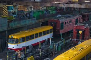 Рижские трамваи для Одессы все еще ремонтируются в Запорожье