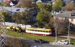 """""""Старые новые"""" трамваи из Риги уже все в Одессе и даже сходят с рельс (ФОТО)"""
