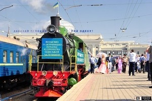 Завтра в Одессу прибудет паровоз с праздничным поездом