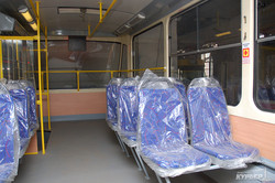 В Одессу привезли новый трамвай (ФОТО)