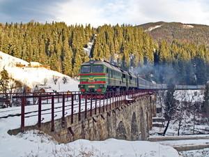 Одесская железная дорога в прошлом году заработала вдвое больше