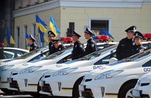 На улицы Одессы вышло 55 полицейских экипажей в сопровождении эвакуаторов