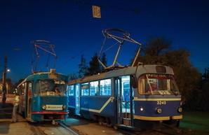 В Одессе остановлено движение трамвайного маршрута
