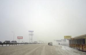 Из-за снегопада все дороги Одесской области закрыты для движения