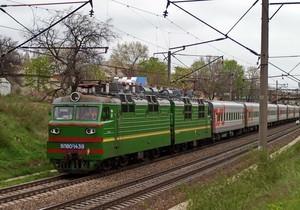 Россия отменила все пассажирские поезда в Украину