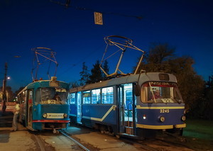 В Одессе два трамвая временно поменяют маршрут
