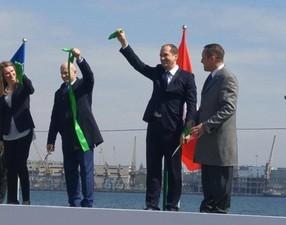 В порту Черноморска открыли новый терминал