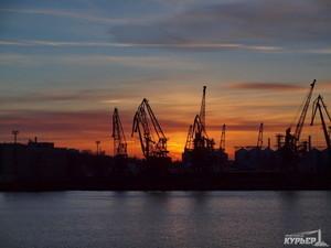 В Одесском порту снизился грузооборот