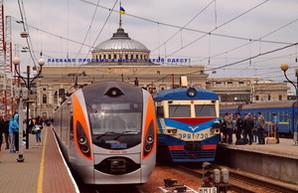 Одесская железная дорога увеличивает количество пассажирских поездов