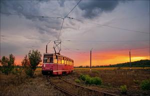 В прифронтовой Авдеевке испытывают трамвай на дизель-генераторе (ФОТО, ВИДЕО)