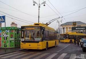 """В Одессе скоро появятся пять новых троллейбусов """"Богдан"""""""