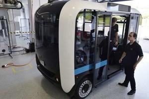 Электрические микроавтобусы уже печатают на 3D-принтере (ФОТО)
