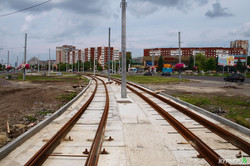 Как во Львове строят линию трамвая в самый большой спальный жилмассив города (ФОТО)