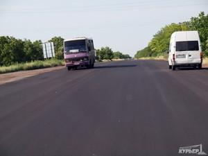 Качество отремонтированных участков трассы Одесса-Рени приятно шокирует водителей
