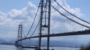 В Стамбуле открыли третий мост через пролив Босфор (ФОТО)