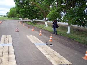 На трассе Одесса - Рени появились комплексы для взвешивания грузовиков