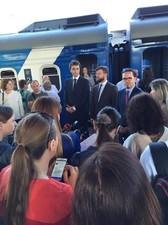 """Поезд """"Интерсити"""" от Киева до Херсона отправился в первый рейс"""
