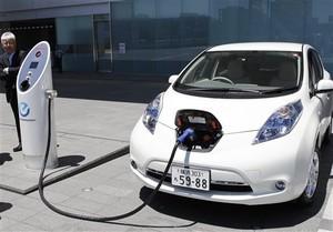 Импорт электромобилей в Украину растет