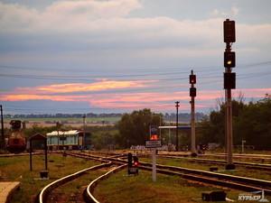 Одесской железной дороге нанесен ущерб на 1 миллион 350 тысяч гривен