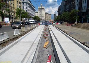 В Харькове осваивают новые технологии бесшумных трамвайных путей (ФОТО)
