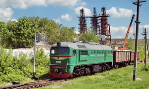 Крюковский завод поставляет в Туркмению грузовые вагоны
