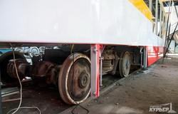 В Одессе продолжается собственное производство низкопольных трамваев (ФОТО)