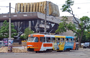 Два маршрута одесского трамвая завтра вечером вместо Аркадии будут ехать к парку Шевченко