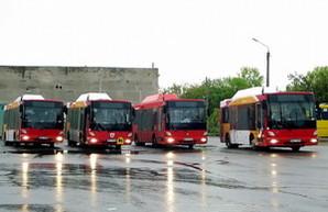В Одессе запустили на один из маршрутов газовые низкопольные автобусы (ФОТО)