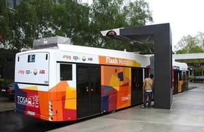В Женеве разработали технологию скоростной системы подзарядки электробусов за 15 секунд