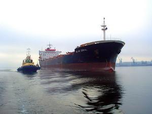 Херсонский порт увеличил перевалку зерновых на 125%