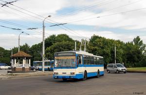В Ровно поставили 5 подержанных троллейбусов из Чехии (ФОТО)