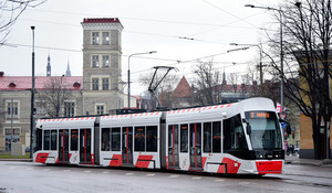 В столице Эстонии 700 метров трамвайной линии в аэропорт строят за 11,5 миллионов евро