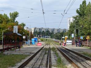В Киеве взялись за реконструкцию и продление линии скоростного трамвая на Борщаговке
