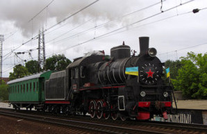 Завтра в Харькове в рейс отправится ретро-поезд румынского производства
