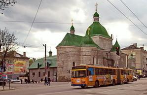 В Тернополе открыли новую линию троллейбуса