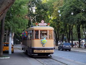 """По Одессе проедет """"трамвай счастья"""""""