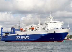 Из Черноморского порта паромы вывезут более 500 вагонов