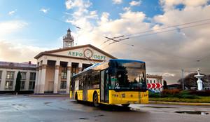 К новому терминалу аэропорта во Львове построят троллейбусную линию